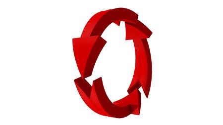 3d: Arrows. 3D arrows. 3D rendering. 3D illustration