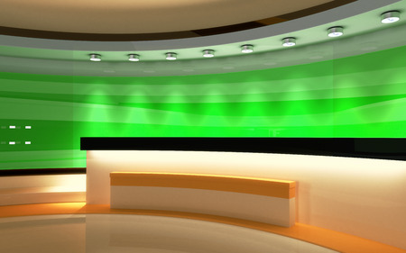 Tv Studio News The Perfect Backdrop For Any Green Screen Or Chroma Key