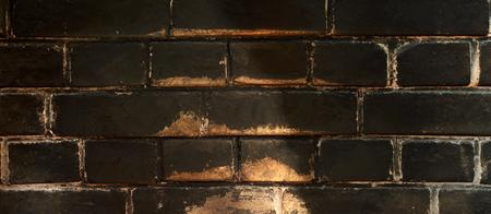 sooty: Brick. Bricks wall. Bricks background. Sooty bricks. Sooty brick Stock Photo