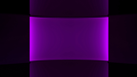 Dark Purple  background, Purple lighting. Purple backlight wall. 3d. 3D rendering