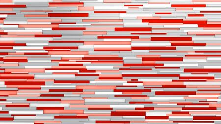 Abstract wall. News room. Red lines. 3D rendering Stockfoto