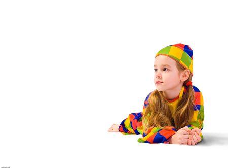 ingannare: Sognante cinque - anno Girlie all'interno di mascherare ingannare Archivio Fotografico