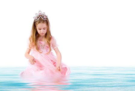 toyshop: little girl as little princess