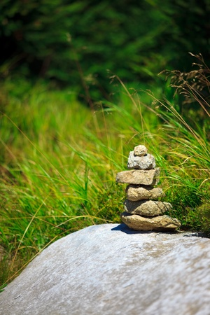 Small stone tower Stock Photo - 12506064