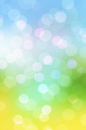 Abstract spring natural background with blur lights  Stock Photo - 12505980