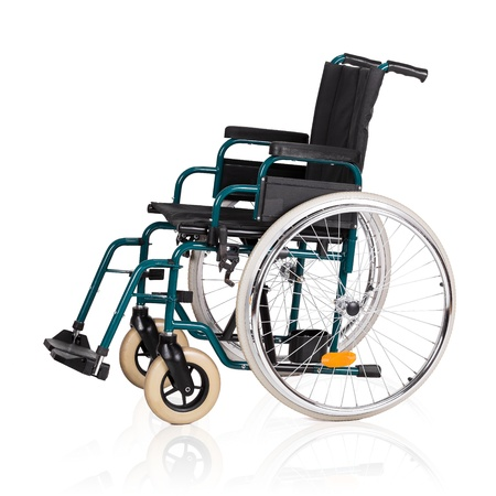 paraplegic: Vehicle for handicapped persons - wheelchair