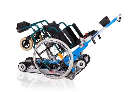 Vehicle for handicapped persons - wheelchair  Stock Photo - 19704361