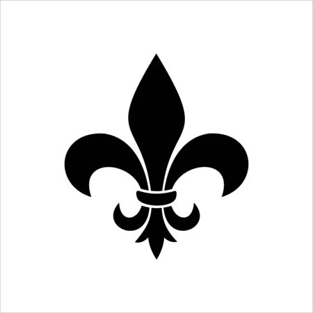 silhouette of the black lily symbol logo