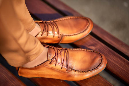 brogues: womens moccasins