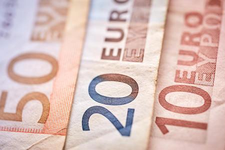euro notes 10, 20, 50