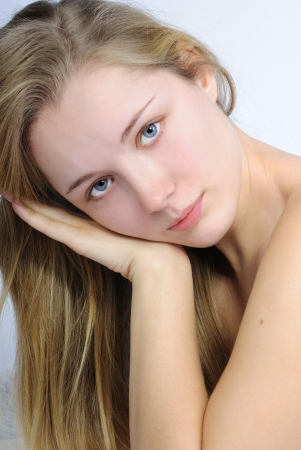 nacked: making look younger beautiful girl blonde