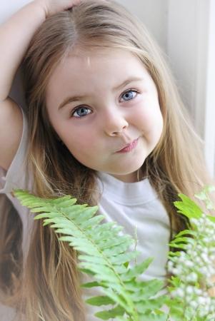 a beautiful little girl