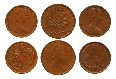 dominion: cents, British Dominion, Australia, New Zealand, Canada