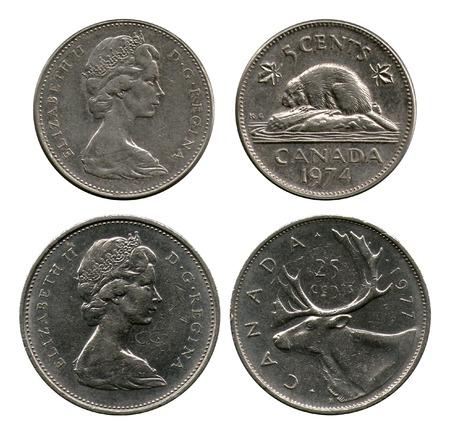 dominion: five and twenty five cents, Canada, 1974-1977
