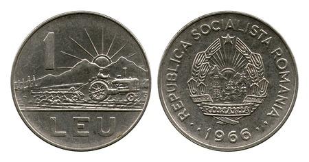 leu: un leu, Repubblica socialista Romania 1966