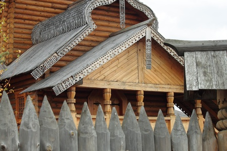 hermitage: Russian architecture, the wooden hermitage