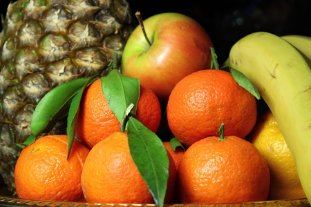 Fruit on a tray Stock Photo - 13860133