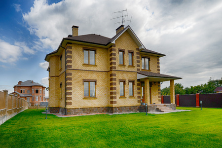 windows and doors: beautiful home in the exclusive village