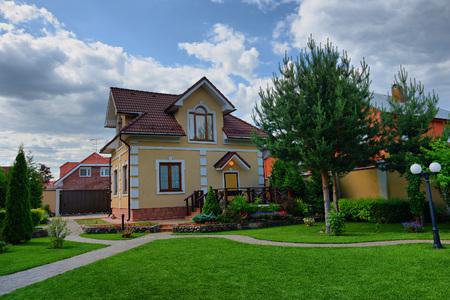 Beautiful home in the exclusive village. Standard-Bild