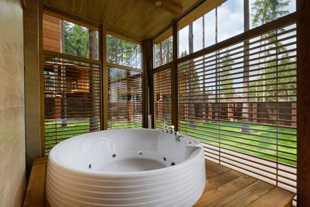 bidet: Interior design bathroom luxury house.