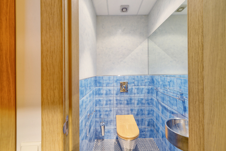 The interior of the bathroom.