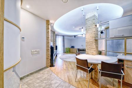 Interior of a modern house.