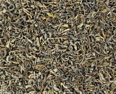 healthily: texture of organic material - green tea Stock Photo