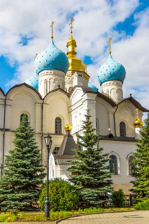 Blagoveshchensky cathedral in the Kazans Kremlin