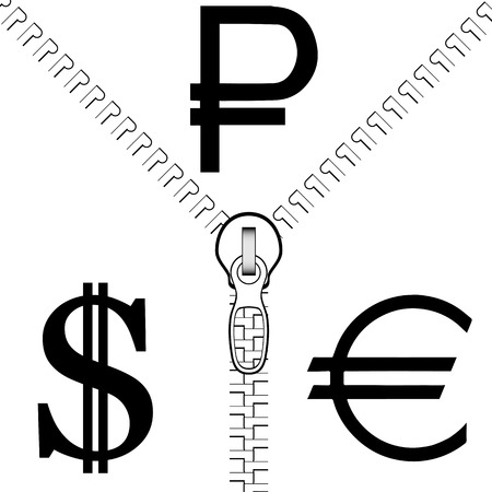 confrontation: The confrontation of the Rouble to the Dollar and the Euro