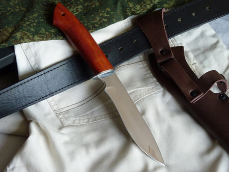 carbonaceous: Knife hunting tourist Russian production