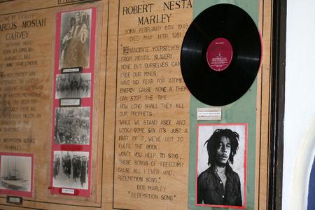 Bob Marley s huis museum in het Kingston, Jamaica
