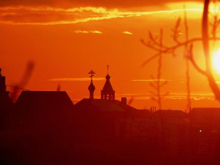 volgograd: Decline in the city of Volgograd Stock Photo