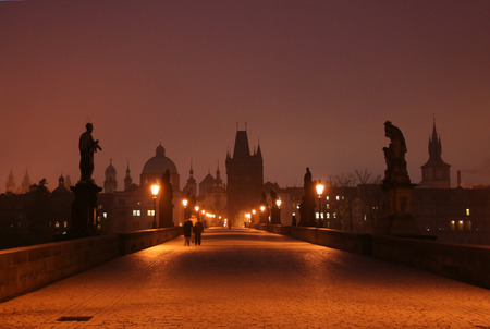 shootings: Morning shootings on Charles Bridge in the city of Prague
