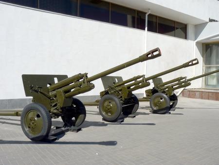 Soviet anti-tank guns of times of World War II