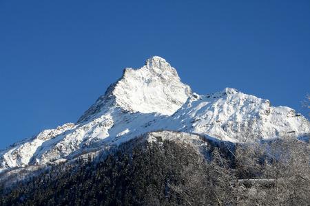 dombai: In the mountains of Dombai, Caucasus