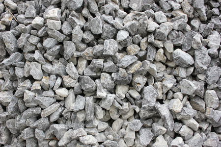 gravel roads: Gray gravel for laying of asphalt roads and filling of emptiness