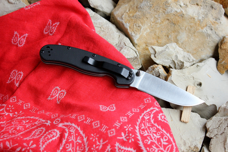 temperino: Penknife for the hidden carrying, as a collecting subject Archivio Fotografico