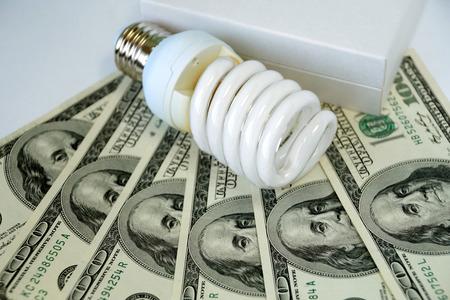 luminescent: Economic small luminescent bulb allows to save money