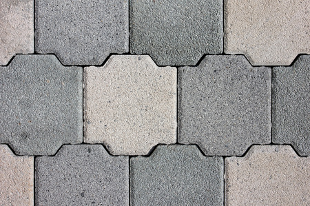zones: Paving slabs of various forms, flowers and the sizes for decoration of pedestrian zones