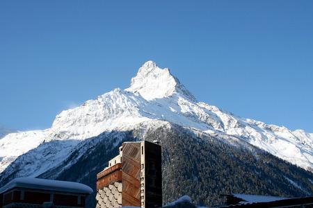 dombai: Mountain top in the mountains of Dombai, Caucasus