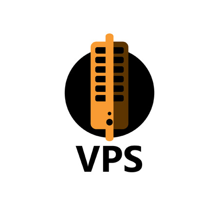 colocation: technologic icon - VPS yellow