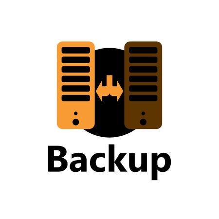 technologic icon - backup yellow