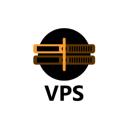 colocation: rackmount technologic icon - VPS yellow