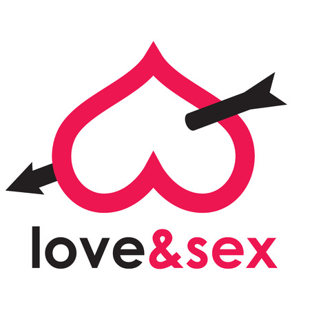 Sex shop - butt 向量圖像