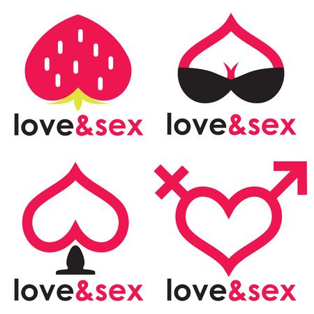 Sex shop hearts collection