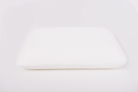 Mattress that supported you to sleep well all night isolated on white background. photo