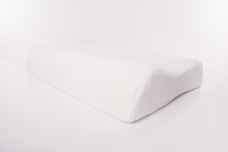 sleep well: Mattress that supported you to sleep well all night isolated on white background.