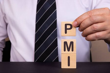 Concept image of Accounting Business Acronym PMI Preferred Minimum Interest.