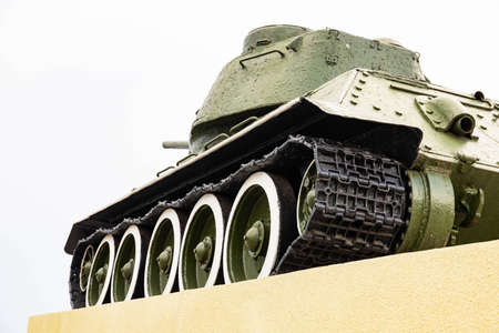 Monument to the Soviet Tank since the Second World War Stok Fotoğraf