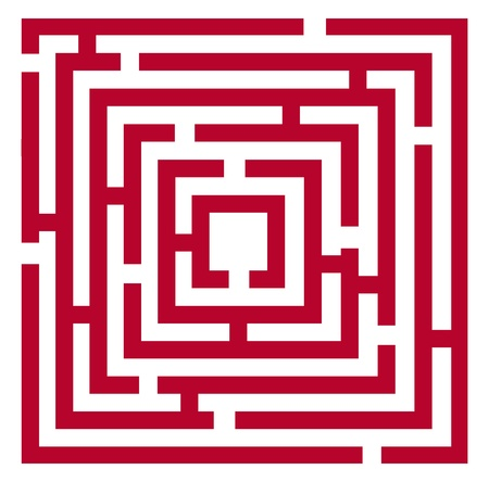 origin: Vector 2d red maze